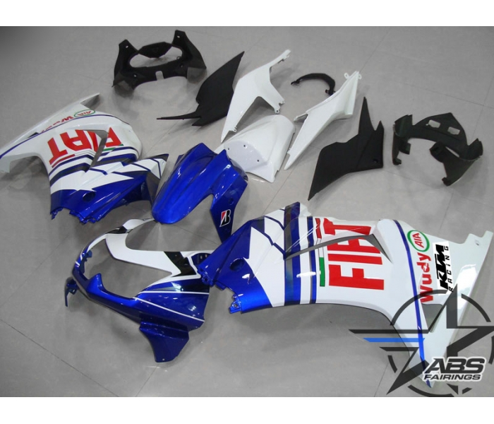 ABS Fairings Fiat Edition - 08-11' Ninja 250R