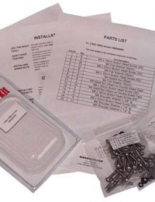 08-09 Kawasaki EX250R Screws Only Fairing Fastener Kit