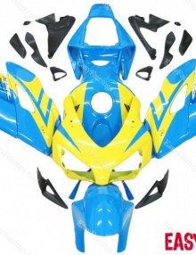 Easy Fairings 04-05 Honda CBR1000RR Fairings: Light Blue/Yellow