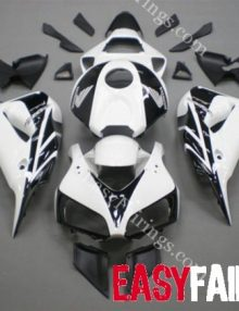 Easy Fairings 06-07 Honda CBR1000RR Fairings: White/Black