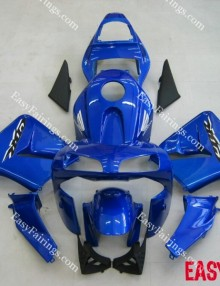 Easy Fairings 03-04 Honda CBR600RR Fairing: Blue with Black Lowers