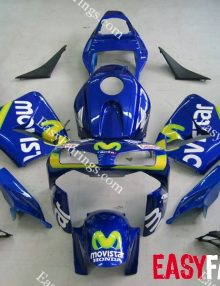 Easy Fairings 03-04 Honda CBR600RR Fairings: Blue Movistar Design