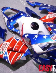Easy Fairings 05-06 Honda CBR600RR Fairings: Blue Castrol