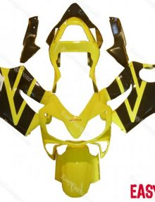 Easy Fairings 04-07 Honda CBR600 F4i Fairings: Yellow/Black