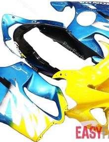 Easy Fairings 99-00 Honda CBR600 F4 Fairings: Yellow/Blue ( 99, 00)