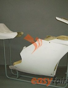 98-02 Ducati 748, 996, 998 Fiberglass Race/Track Fairings**DISCONTINUED**
