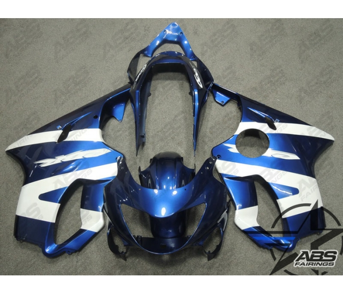 ABS Fairings Blue Pearl White 99 00 CBR F4