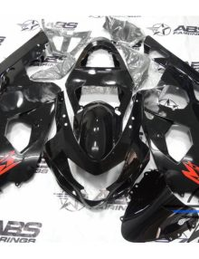 ABS Fairings All Black - 01-03' GSXR 600/750