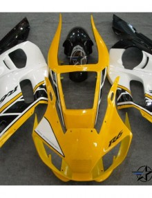 ABS Fairings 50th Anniversary Yellow 12pc Fairing Set - Yamaha YZF-R6 1998-2002