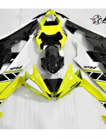 ABS Fairings 40th Anniversary Yellow & Black 19pc Fairing Set - Yamaha YZF-R6 2006-2007