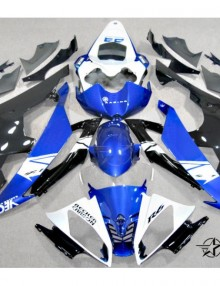 ABS Fairings Blue & Black 24pc Fairing Set - Yamaha R6 2008-2014