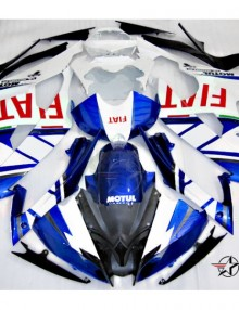 ABS Fairings Fiat Racing 24pc Fairing Set - Yamaha R6 2008-2014