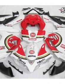 ABS Fairings Red Lucky Strike 26pc Fairing Set - Yamaha YZF-R1 2007-2008