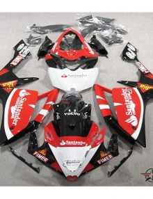 ABS Fairings Santander Racing 26pc Fairing Set - Yamaha YZF-R1 2007-2008