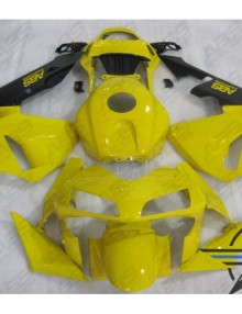 ABS Fairings Yellow & Black 20pc Fairing Set - Honda CBR600RR 2003-2004
