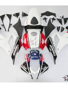 ABS Fairings Carrera-Lee Racing 26pc Fairing Set - Honda CBR600RR 2007-2008