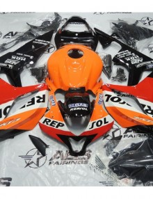 ABS Fairings Classic Repsol Racing 26pc Fairing Set - Honda CBR600RR 2007-2008