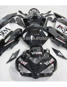 ABS Fairings West Racing 21pc Fairing Set - Honda CBR1000RR 2004-2005