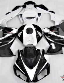 ABS Fairings OEM Style Black & White 21pc Fairing Set - Honda CBR1000RR 2006-2007