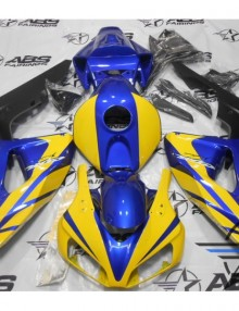 ABS Fairings Yellow & Blue 21pc Fairing Set - Honda CBR1000RR 2006-2007