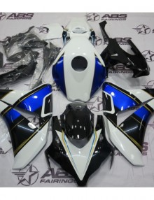 ABS Fairings Blue, White, & Gold 21pc Fairing Set - Honda CBR1000RR 2008-2011