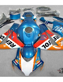 ABS Fairings Blue Repsol 21pc Fairing Set - Honda CBR1000RR 2008-2011
