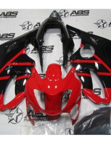ABS Fairings OEM Style Red & Black 12pc Fairing Set - Honda CBR600 F4 1999-2000