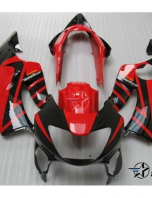 ABS Fairings Red & Black 12pc Fairing Set - Honda CBR600 F4 1999-2000