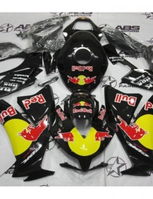 ABS Fairings Black Red Bull Energy Edition 22pc Fairing Set - Honda CBR1000RR 2012-2013