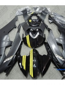ABS Fairings Black & Yellow Fairing Kit 24pc - Yamaha R6 2008-2014