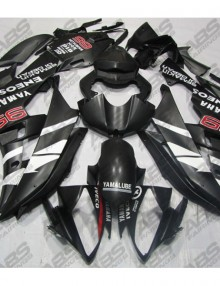 ABS Fairings Matte Black ENEOS Edition 24pc Fairing Kit - Yamaha R6 2008-2014