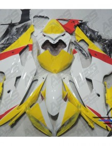 ABS Fairings Yellow & Red 24pc Fairing Kit - Yamaha R6 2008-2014