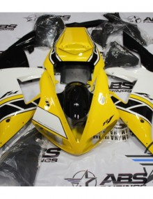 ABS Fairings 50th Anniversary Yellow - 02-03' R1
