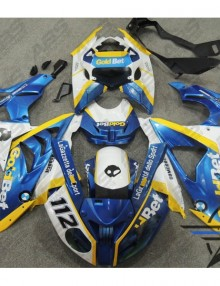 ABS Fairings Gold Bet Edition - 2009-14' BMW S1000RR