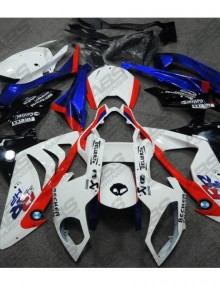 ABS Fairings Red, White & Blue Racing - 2009-14' BMW S1000RR