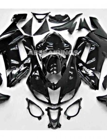 ABS Fairings All Black - 07-08' ZX6R