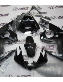 ABS Fairings Black on Black - 06-09' R6S