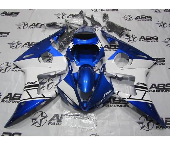 ABS Fairings Blue & White - 06-09' R6S