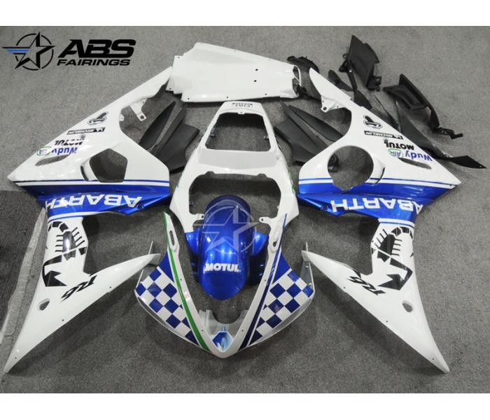 ABS Fairings Blue Scorpion Edition - 06-09' R6S