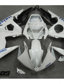 ABS Fairings Pearl White with Blue Decals - 06-09' R6S