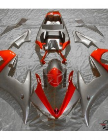ABS Fairings Red & Grey - 06-09' R6S
