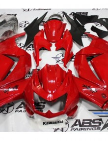 ABS Fairings All Red - 08-11' Ninja 250R