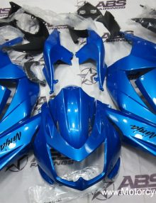 ABS Fairings All Blue Faring Set 13pc - Ninja 250R 2008-2011