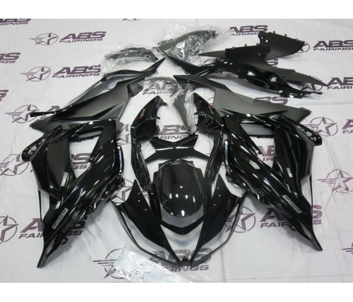 ABS Fairings OEM Style Black - 2013 ZX6R
