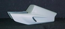 Sharkskinz STREET SOLO TAIL uses stock seat CBR900RR 1993-1995