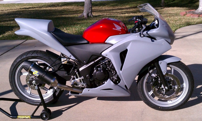 Sharkskinz RIGHT SIDE-CBR250R 2012