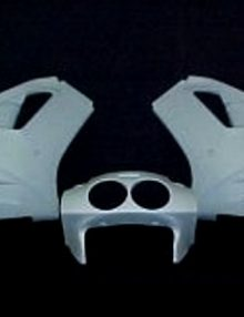 Sharkskinz LOWER R/H ZX7R 1991-1992