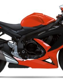 Orange/Black ABS Fairing Set - Suzuki GSXR600/750 *Opened Box Sale - Only 1 Set Left*