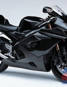 ABS Fairings All Gloss Black 30pc Fairing Set - Suzuki GSXR1000 2005-2006