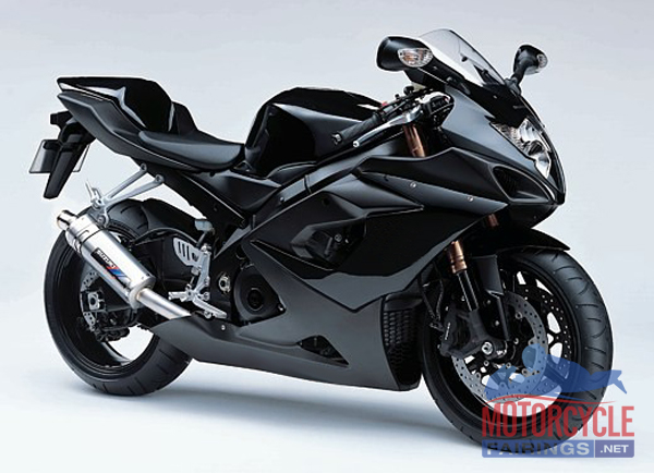 ABS Fairings All Gloss Black 30pc Fairing Set - Suzuki GSXR1000 2005 ...